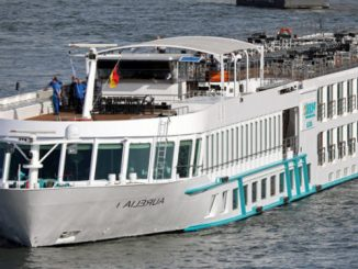 Live Cruise Ship Tracker for MS Aurelia, Phoenix Reisen River Cruises