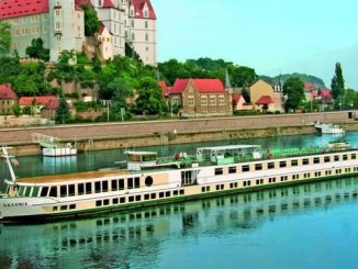 Live Cruise Ship Tracker for MS Saxonia, Phoenix Reisen River Cruises