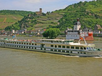 Live Cruise Ship Tracker for MS Switzerland, Phoenix Reisen River Cruises