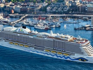 Live Cruise Ship Tracker for AIDAnova AIDA Cruises