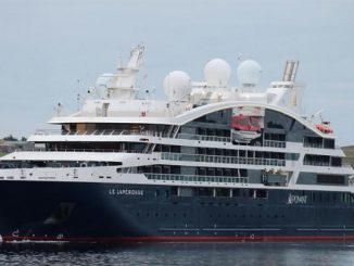 Live Cruise Ship Tracker for Le Lapérouse Ponant Cruises