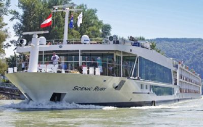 Live Cruise Ship Tracker for Scenic Ruby Scenic Luxury Cruises and Tours