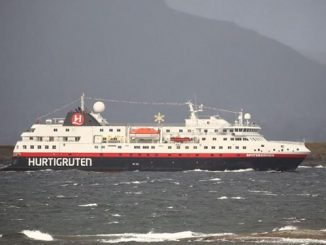 Live Cruise Ship Tracker for MS Spitsbergen, Hurtigruten Cruises