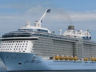 Live Cruise Ship Tracker for Ovation of the Seas Royal Caribbean Cruise Line