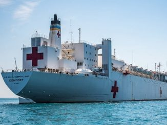 USNS Comfort (T-AH-20) United States Navy Medical Service Corps Live Ship Tracker